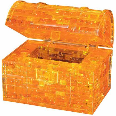 3D Crystal Puzzle, Treasure Chest