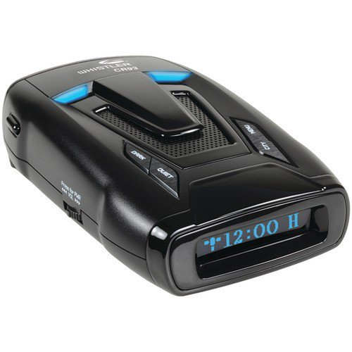 Whistler CR93 Optimum Performance Laser/Radar Detector w/ Internal GPS