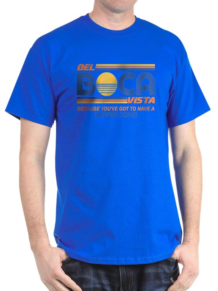 3a65fc742c7 CafePress - CafePress - Del Boca Vista Seinfeld - 100% Cotton T-Shirt -  Walmart.com