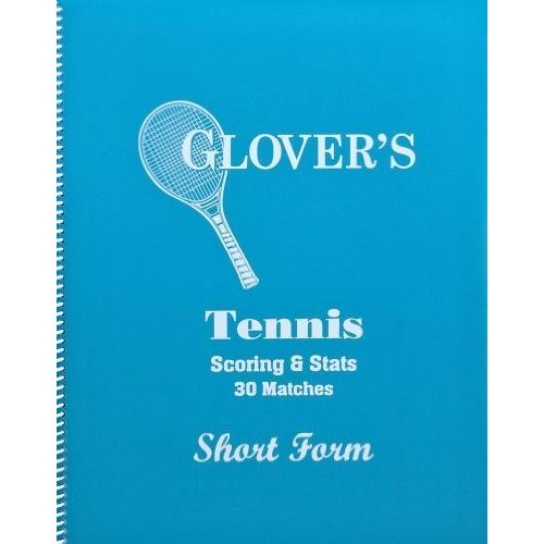 Glover Tennis Short Form Scorebook, 30 Matches by Overstock