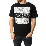 Famous Stars And Straps Men's Marble Box Graphic T-Shirt