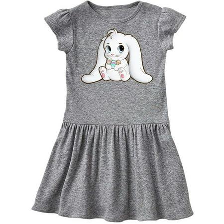 Adorable Easter Bunny Toddler Dress](Easter Bunny Dresses)