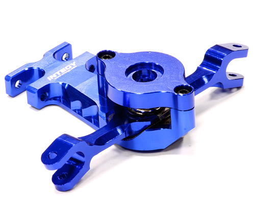 Integy RC Toy Model Hop-ups T4135BLUE Billet Machined Alloy Steering Bellcrank for Traxxas... by Integy