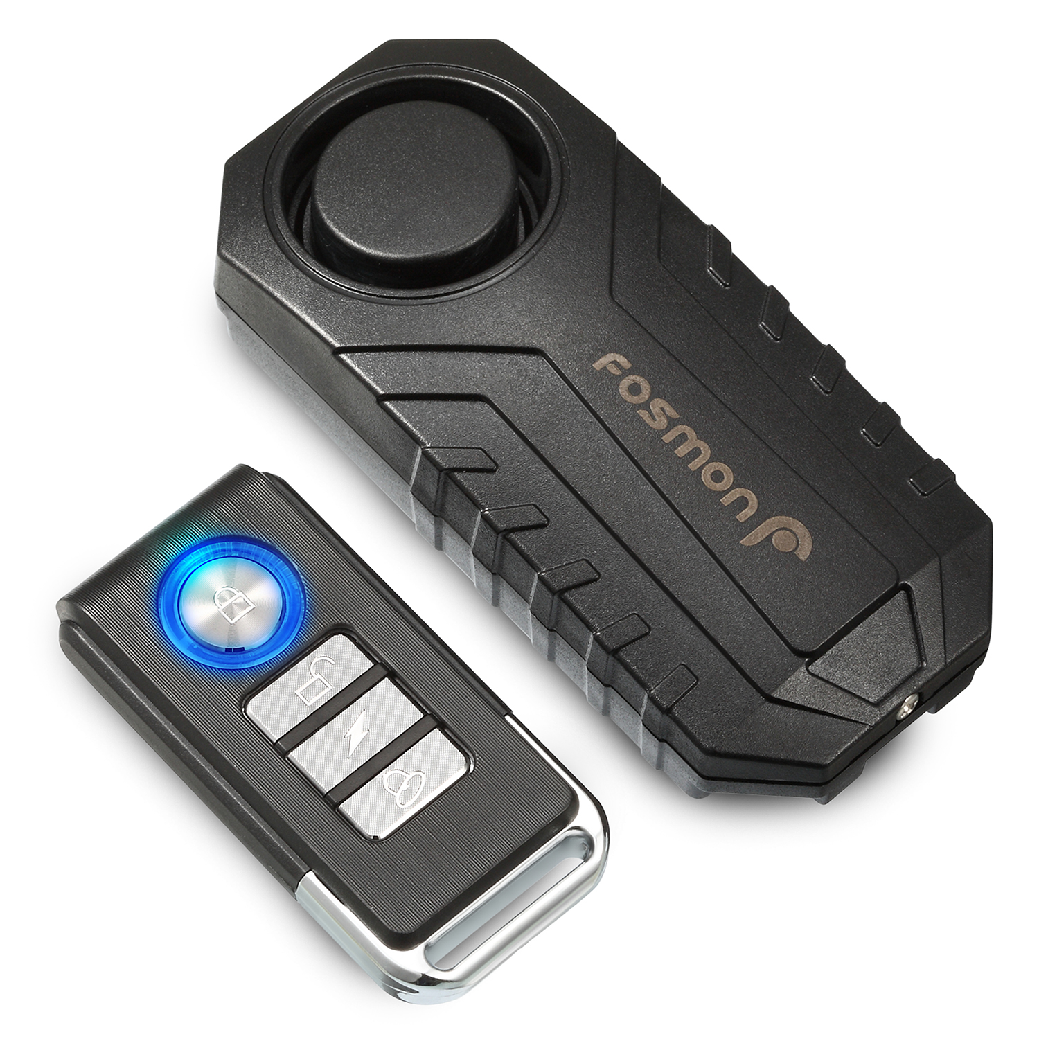 Wireless Bicycle Motorcycle Anti-Theft Alarm 113dB Vibration Remote Control USA