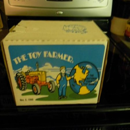Toy Farmer Case 800 Diesel The National Farm Toy Show Tractor