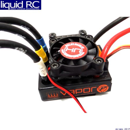 Hot Racing ESC303G01 ESC Cooling Fan w/ Adjustable Carbon Fiber (Carbon Cooling Plate)