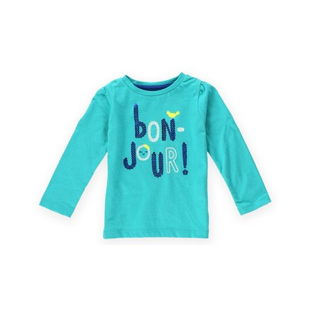 Gymboree Girls Bon Jour Embellished T Shirt