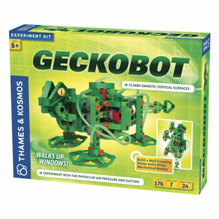 Geckobot Wall Climbing Robot Kit (176 Pieces)