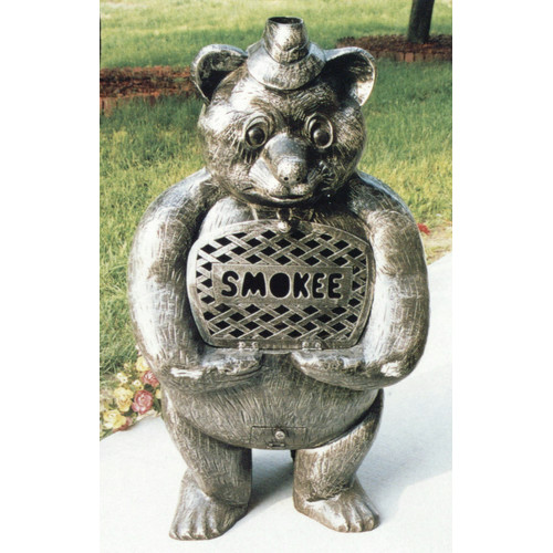 Oakland Living Smokee Bear Aluminum Wood Chiminea by Oakland Living Corporation