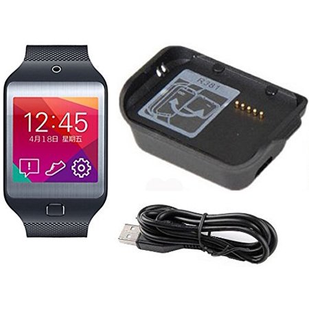 EEEKit Charging Cradle Charger Dock for Samsung Galaxy Gear 2nd SM-R381 Smart Wacth, Watch Accseeories Charge Dock