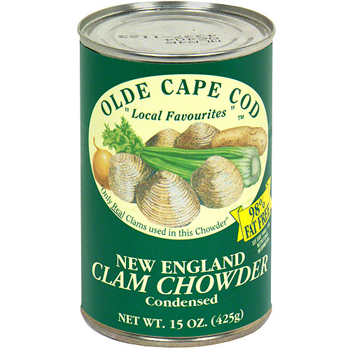 Olde Cape Cod New England Condensed Clam Chowder Soup, 15FO (Pack of 6)