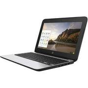 "HP Chromebook 11 G4 Chromebook, 2.16 GHz Intel Celeron, 4GB DDR3 RAM, 16GB SSD Hard Drive, Chrome, 11"" Screen Refurbished"