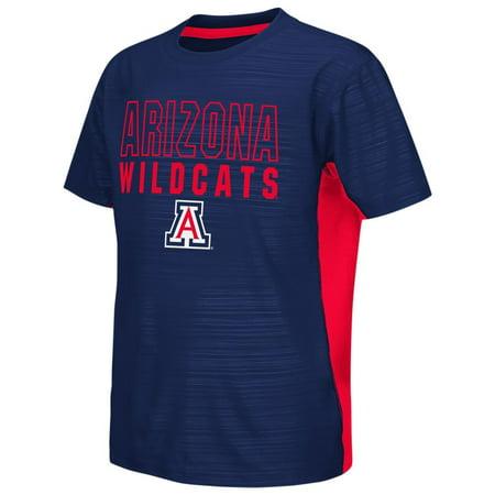 - Arizona Wildcats Youth Tee Performance Poly Logo T-Shirt