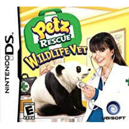 Petz Rescue: Wildlife Vet - Nintendo Ds (Refurbished) Pet Vet Nintendo Ds