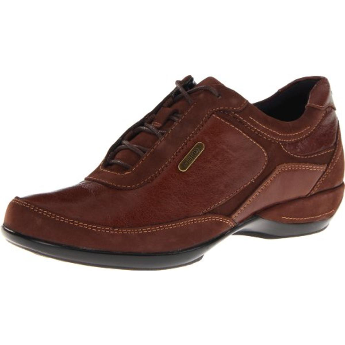 Aetrex Womens Holly Leather Casual Oxfords by Aetrex