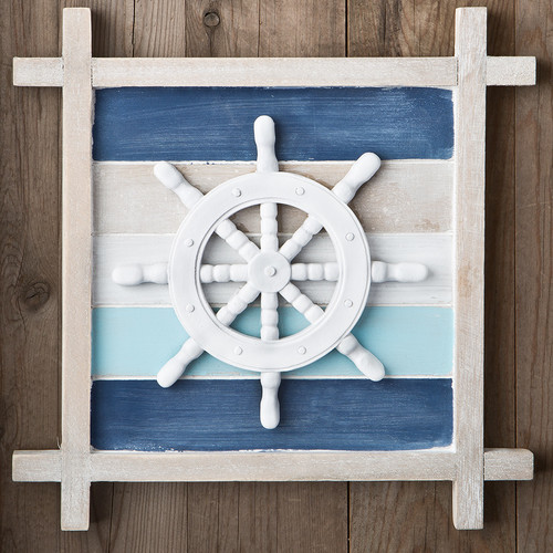 Fashion Craft Nautical Ship's Wheel Wall D cor