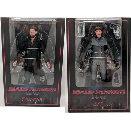 Blade Runner 2049 7 Inch Action Figure Series 2 - Set of 2 (Luv & Wallave) - image 1 de 1