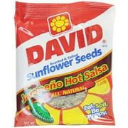 Product Of David, Sunflower Seeds Jalapeno Hot Salsa , Count 12 (5.25 oz) - Sunflower Seeds / Grab Varieties & Flavors