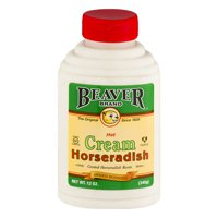 (2 Pack) Beaver Brand: Hot Cream Horseradish, 12 Oz