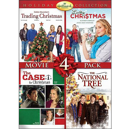 Hallmark Holiday Collection: Movie 4 Pack - Trading Christmas / Lucky Christmas / The Case For Christmas / National Tree (Widescreen) 0088347609384