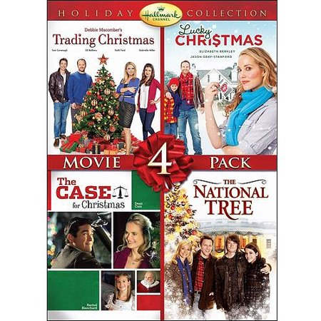 Hallmark Holiday Collection  Movie 4 Pack   Trading Christmas   Lucky Christmas   The Case For Christmas   National Tree  Widescreen