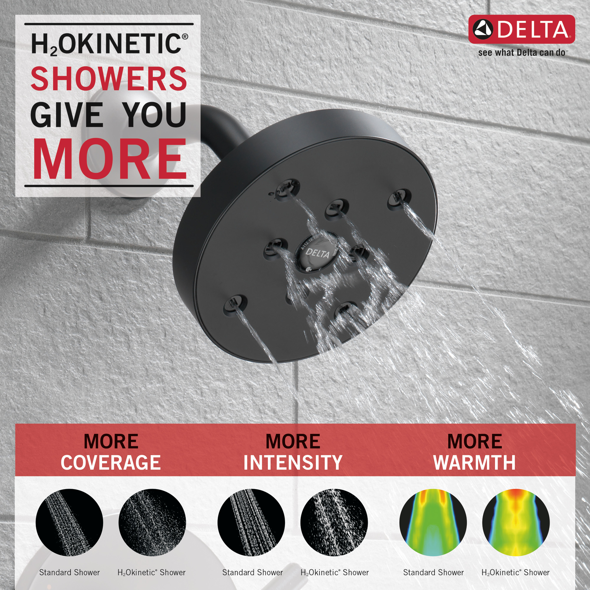 Delta Trinsic Single Handle Tub Shower Tub Shower Faucet In Matte Black T14459 Bl Walmart Com Walmart Com