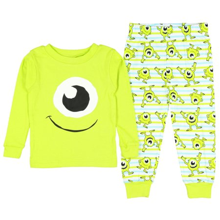 c65c86b85 Monsters Inc. Mike Wazowski Big Face Baby Boys  Pajama Set