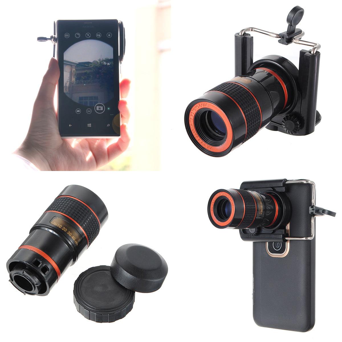 HD Ajustable long focal lens telescope Waterproof 8X Focus Zoom Mini Monocular Cell Phone Telescope Camera