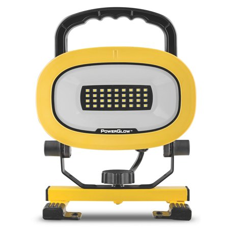 powerglow portable 1500 lumen led worklight. Black Bedroom Furniture Sets. Home Design Ideas