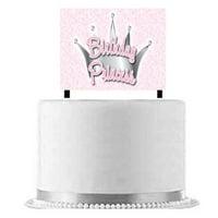 Birthday Princess Cake Decoration Banner
