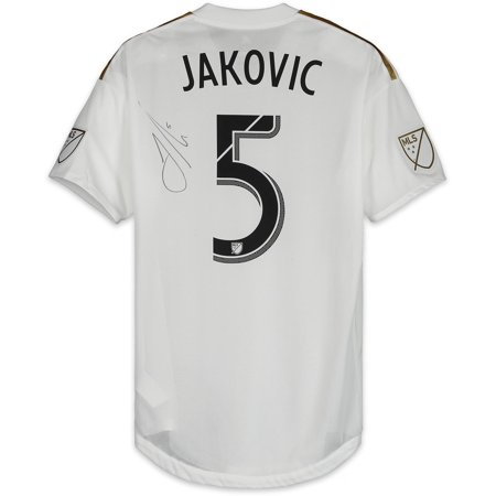 new product e7a6c 451f2 Dejan Jakovic LAFC Autographed Match-Used White #5 Jersey vs. Colorado  Rapids on October 6, 2018 - Fanatics Authentic Certified - Walmart.com