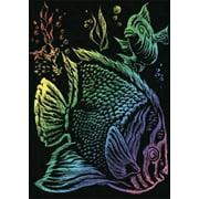 RAIN11 Rainbow Foil Engrvng Tropical Fish