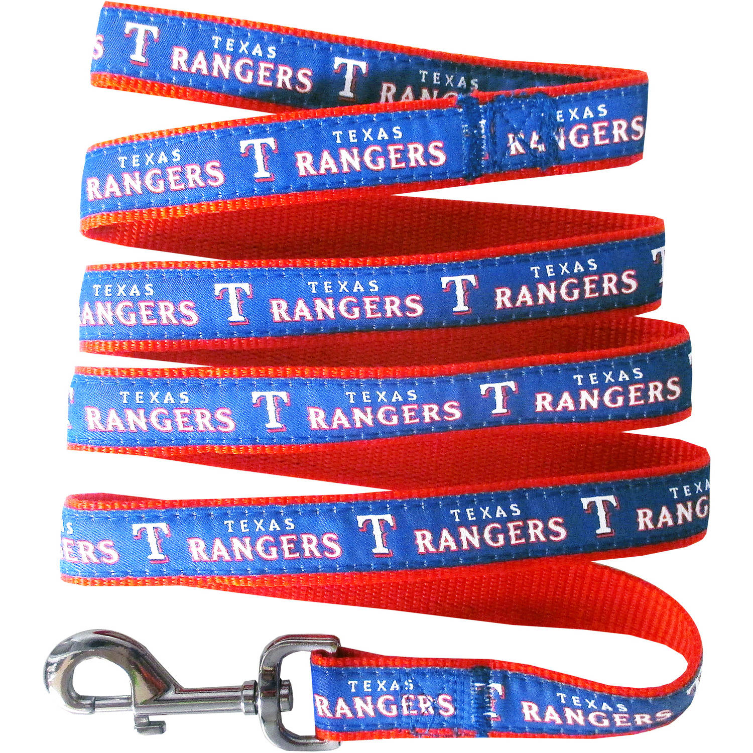 Pets First Texas Rangers Pet Leash, Small