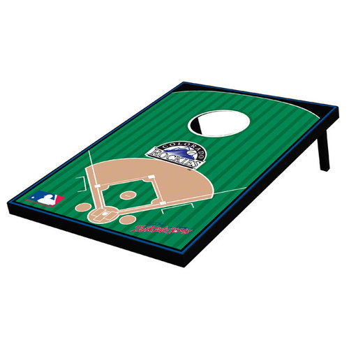 MLB - Colorado Rockies Cornhole Toss: Stadium Bean Bag Game