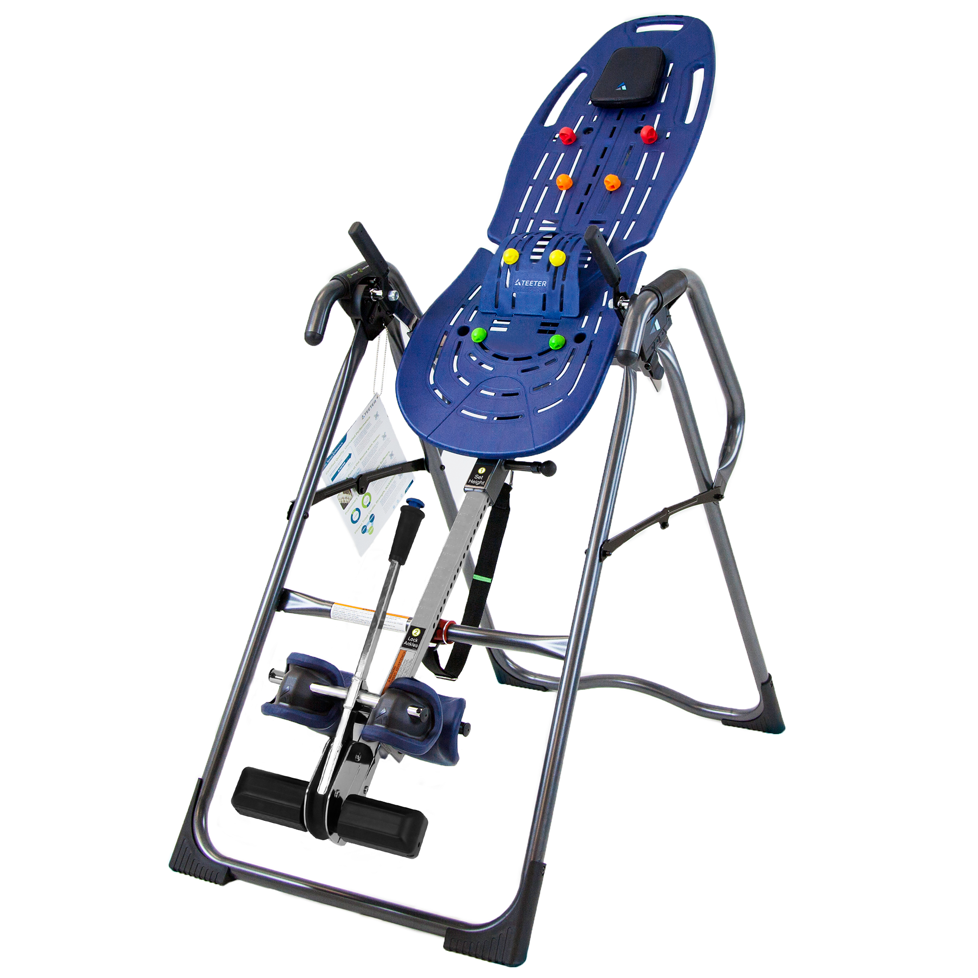 Teeter EP-970 Ltd. Inversion Table with Back Pain Relief Kit by Teeter