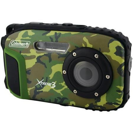 Vr Lens Digital Camo (COLEMAN C9WP-CAMO 20.0-Megapixel Xtreme3 HD Video Waterproof Digital Camera (Camo))