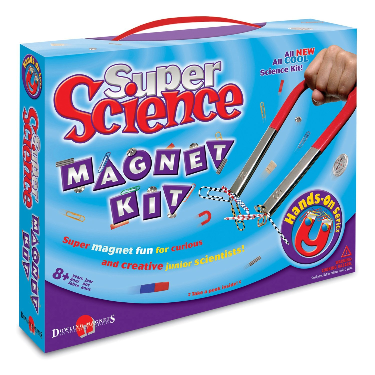 Super Science Magnet Kit., USA, Brand School Specialty