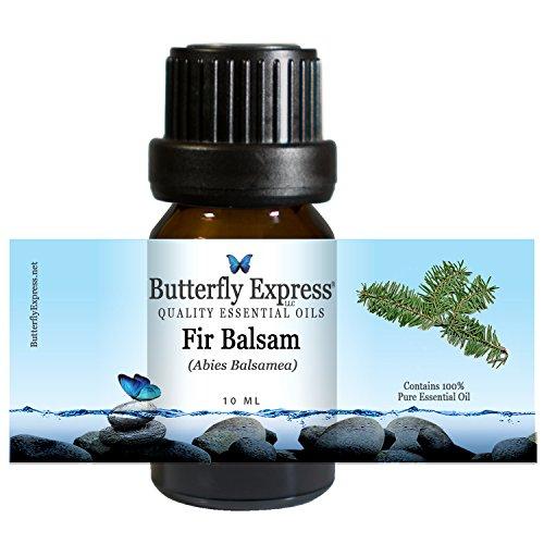 Fir Balsam Essential Oil 10ml - 100% Pure - by Butterfly Express