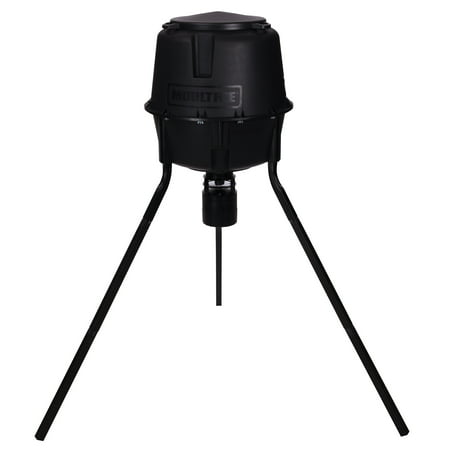 Moultrie 30 Gal 360° Programmable 200 lb Cap Tripod Deer Game Feeder | MFG-13055