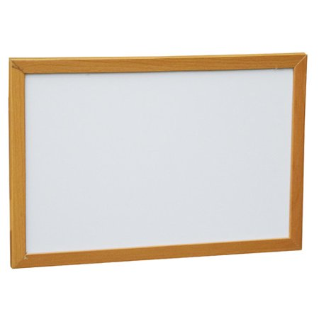 Neoplex Wood Framed Wall Mounted Magnetic Whiteboard
