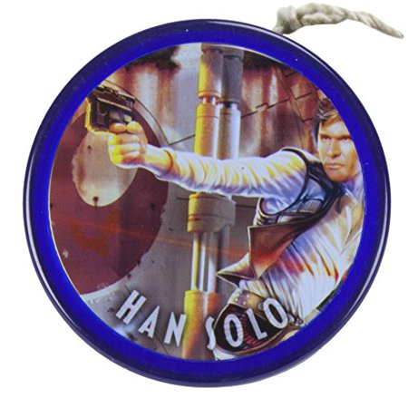 Star Wars Alpha Wing Fixed Axle Yo-Yo – Action Han Solo, The best-loved classic Star Wars characters, captured in awesome action scenes! Collect all 6 By (All Star Wings Best Flavours)