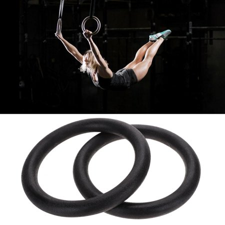 Gymnastic Gym Rings Adjustable Fitness Muscle Strength Training Straps Hoop , Strength Training Ring,Gymnastic Ring
