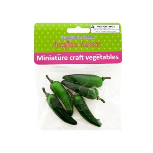 Bulk Buys CG021-48 Miniature Craft Vegetables