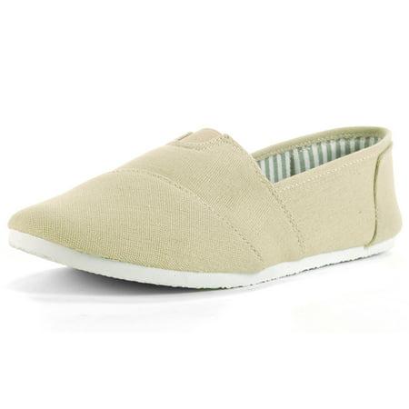 1a0d7048b Alpine Swiss - Alpine Swiss Caroline Womens Canvas Flats Espadrille Loafer Cotton  Slip On Shoes - Walmart.com