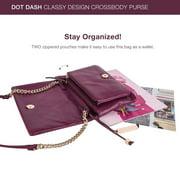 59376422e9fb Dot Dash Crossbody Bags for Women - Shoulder Bags with Gold Chain - Classy  Design Crossbody