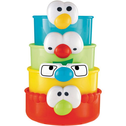 Early Learning Centre Stacking Faces