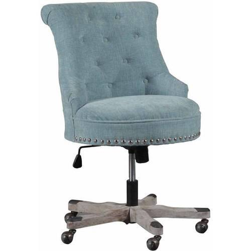 Linon Sinclair Office Chair, Multiple Finishes
