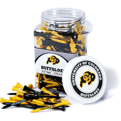 Team Golf NCAA Colorado Jar Of 175 Golf Tees