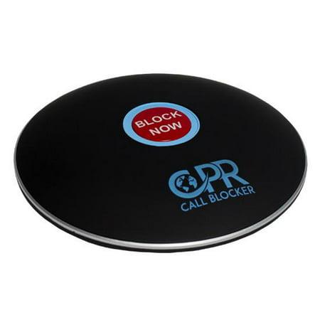 CPR  Shield Call Blocker - Matt Black - Stop All Unwanted calls, robo calls, election calls and solicitor calls.