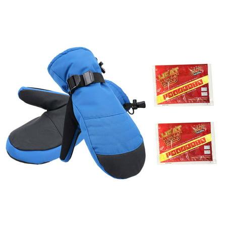 Men Warm Alpine Ski Mittens Waterproof Windproof Snowboard Gloves